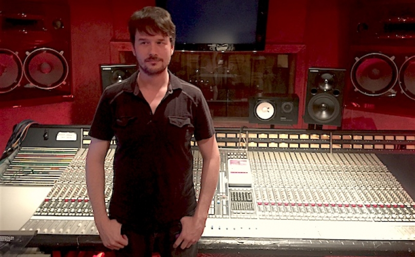 Plush's Adam Chadwick Talks SSL in The Vintage Musician