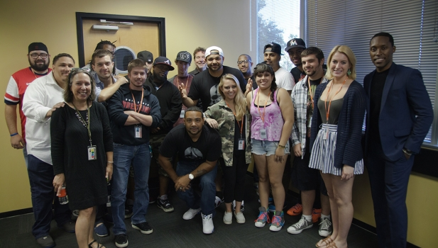 Hip Hop Artist Joell Ortiz Visits Full Sail University