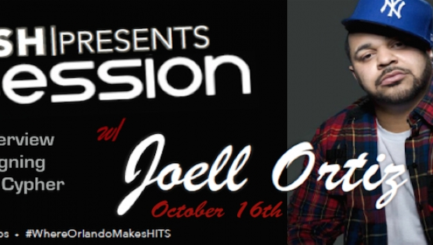 PLUSH STUDIOS TO HOST CYPHER COMPETITION WITH JOELL ORTIZ