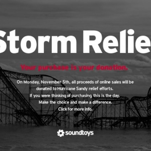 SoundToys Donates to Storm Relief